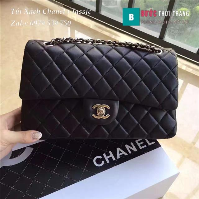 Túi Xách Chanel Classic CF 2.55 size 25.5cm da cừu