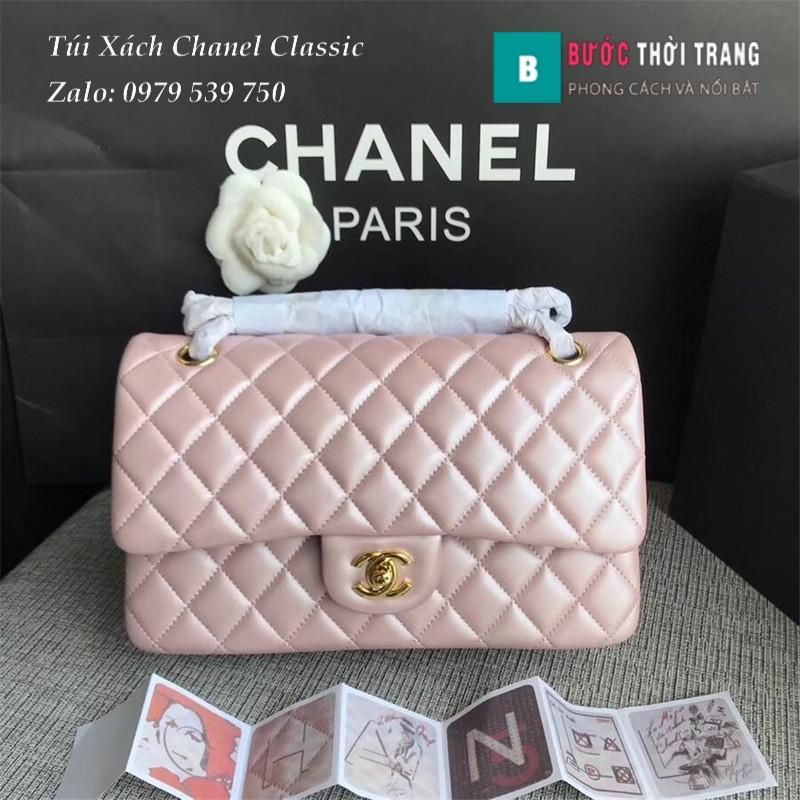 Túi Xách Chanel Classic CF 2.55 size 25.5cm da cừu (36)