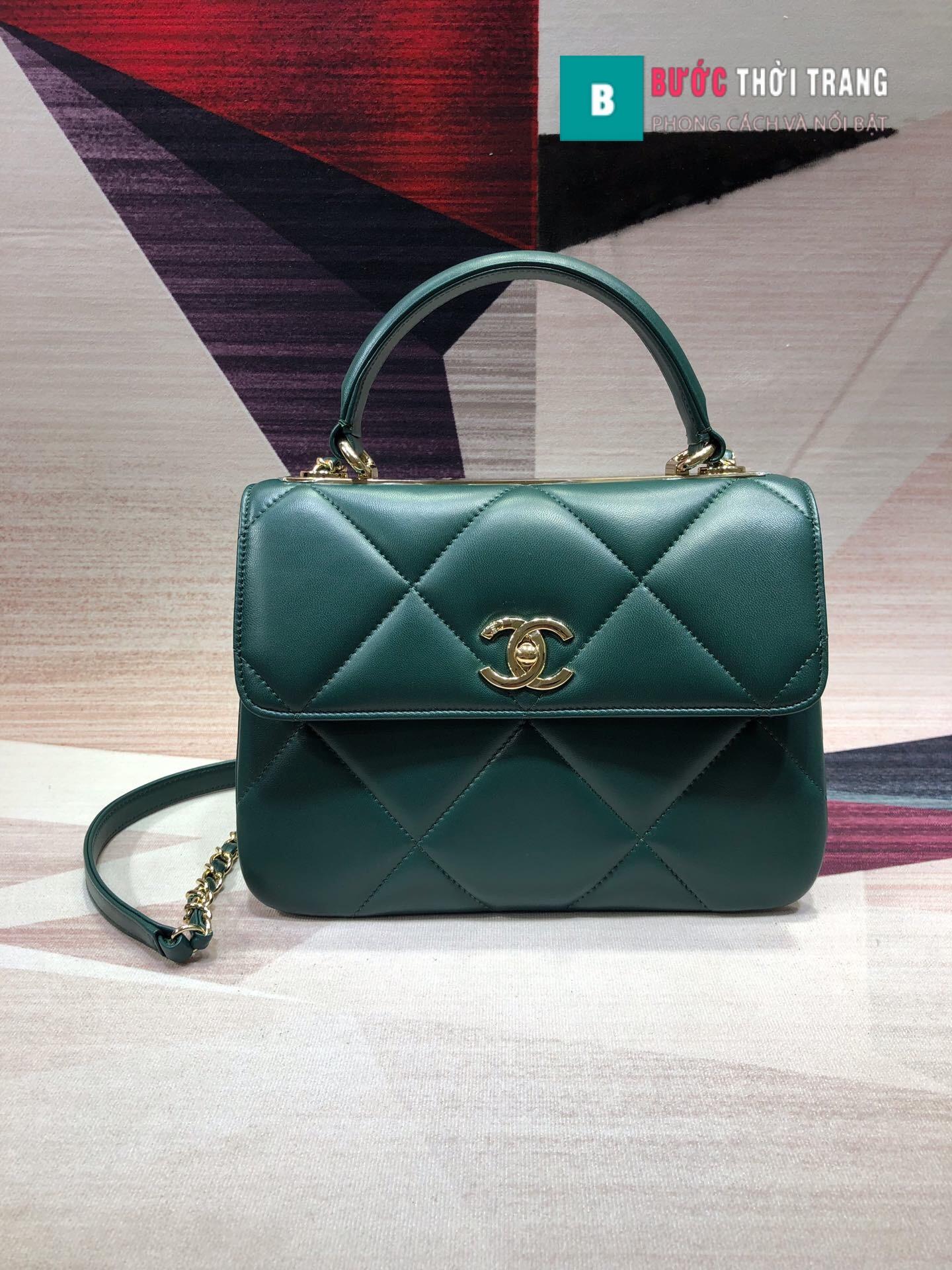 Túi Xách Chanel Trendy CC siêu cấp size 25cm (18)