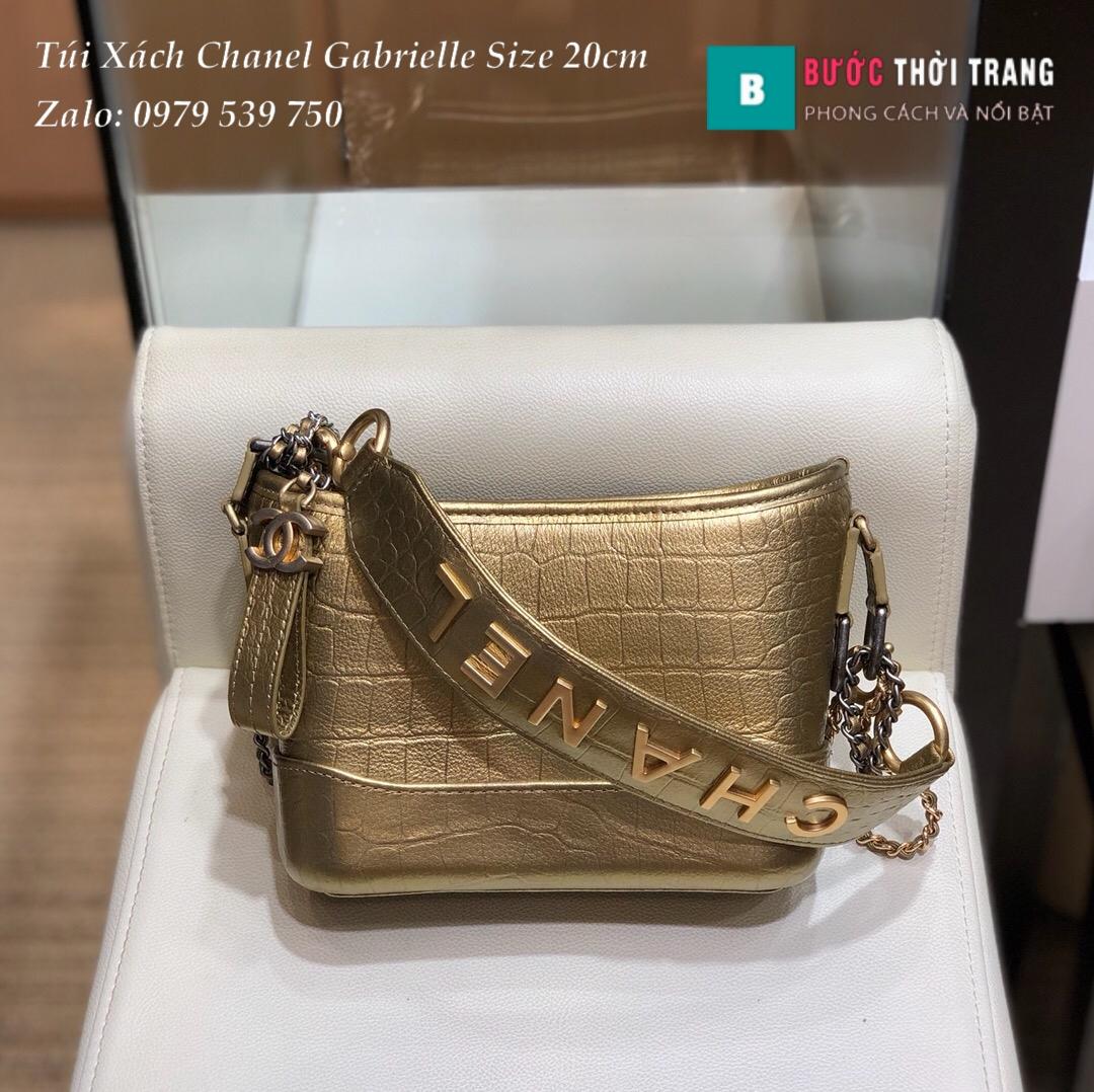 Túi xách Chanel Gabrielle size 20cm siêu cấp (1)