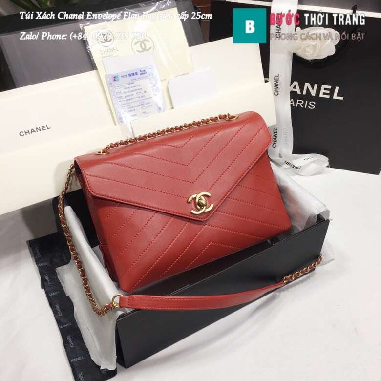 Túi Xách Chanel Envelope Flap Bag siêu cấp 25cm – A57432