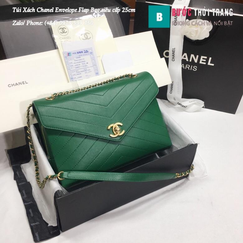 Túi Xách Chanel Envelope Flap Bag siêu cấp 25cm – A57432 (25)