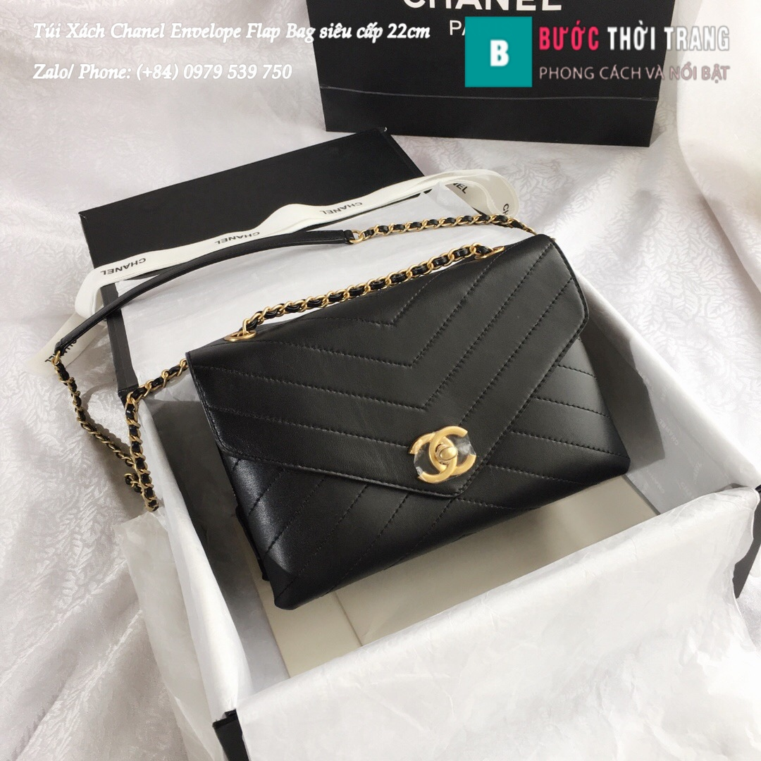 Túi Xách Chanel Envelope Flap Bag siêu cấp size 22cm – A57431