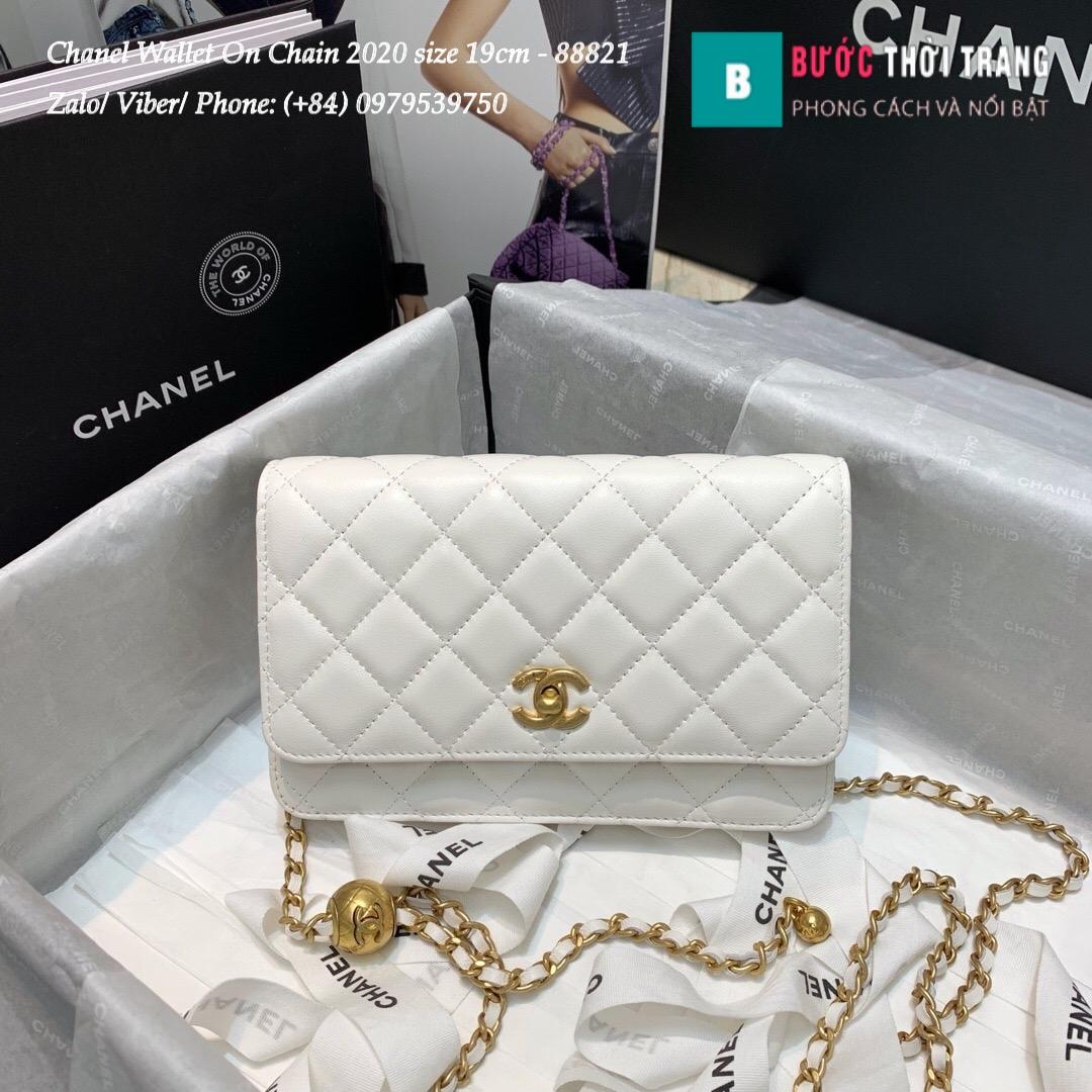 Túi Xách Chanel Classic Wallet On Chain siêu cấp 2020 Size 19cm – 88821 (11)