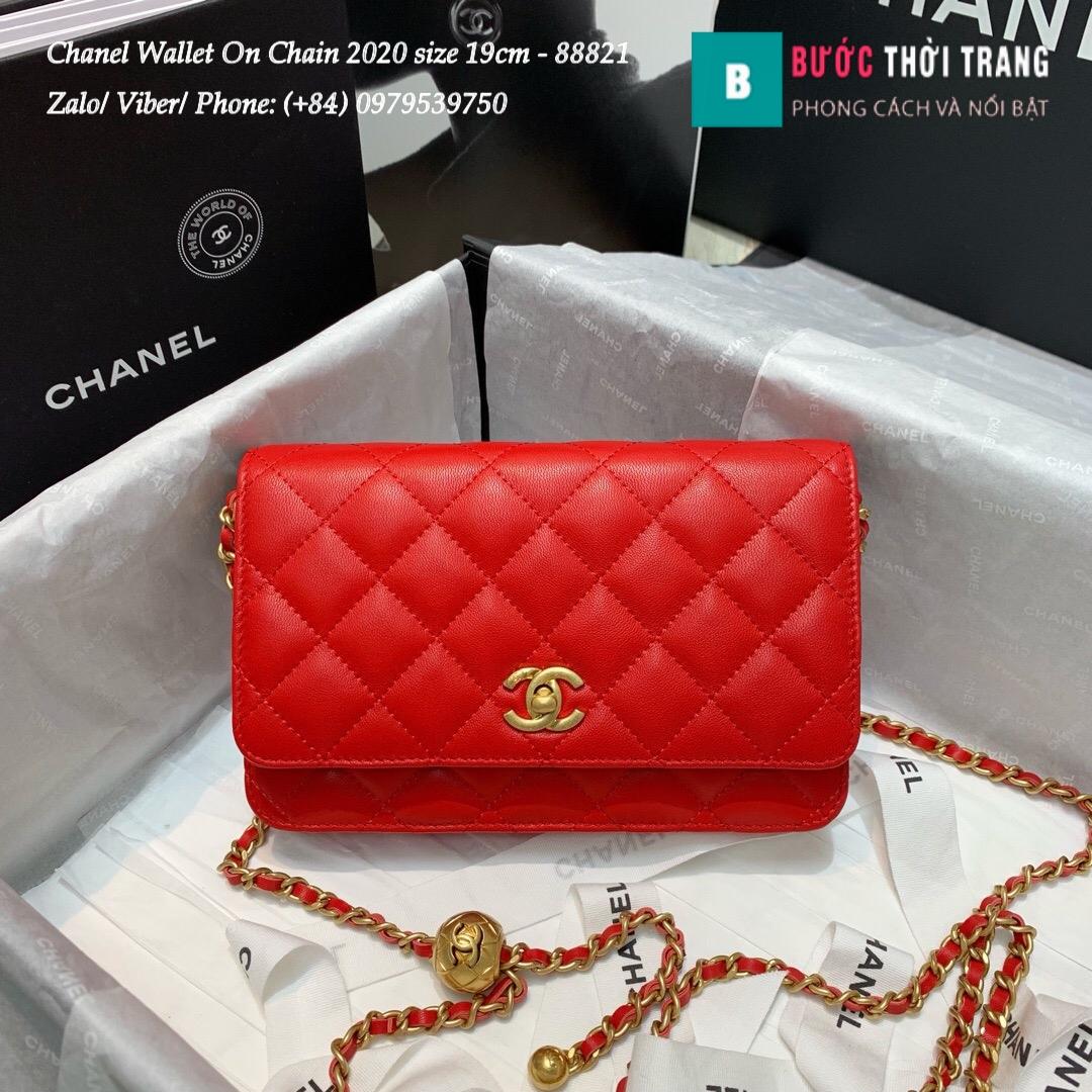 Túi Xách Chanel Classic Wallet On Chain siêu cấp 2020 Size 19cm – 88821 (20)