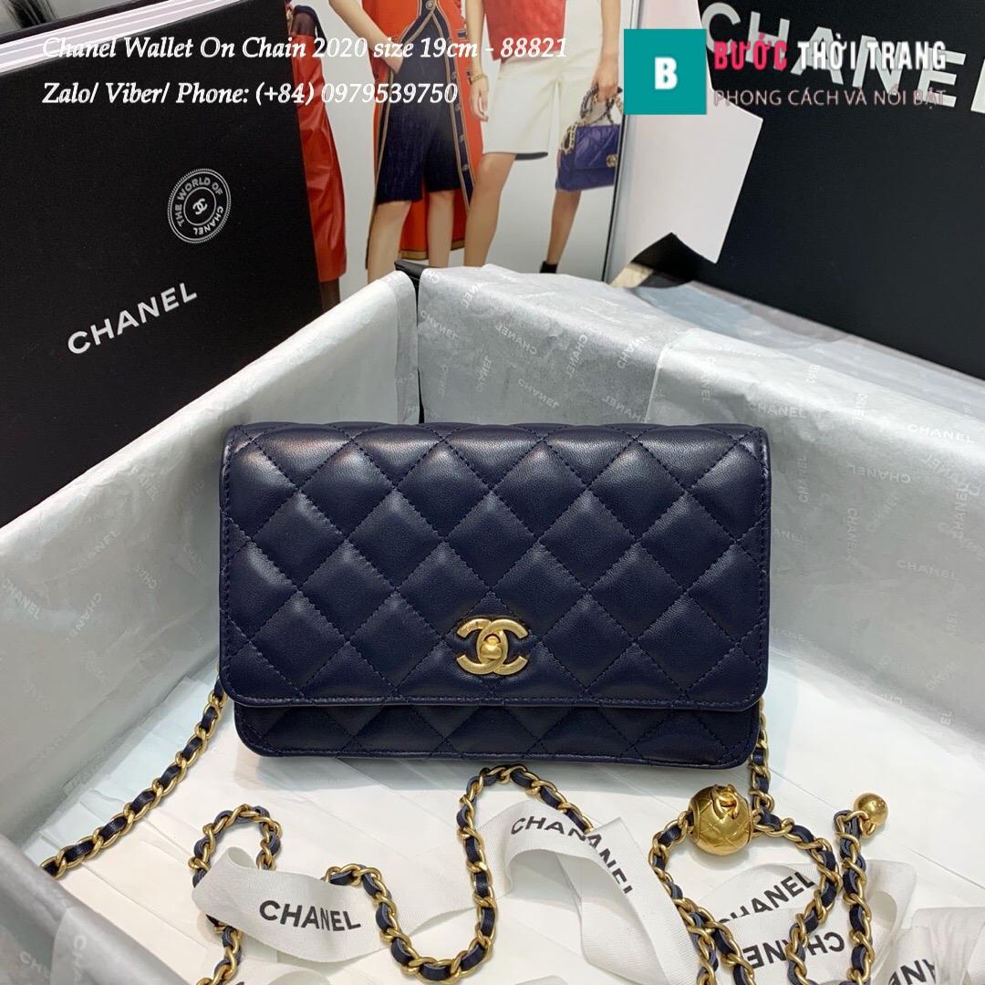Túi Xách Chanel Classic Wallet On Chain siêu cấp 2020 Size 19cm – 88821 (29)