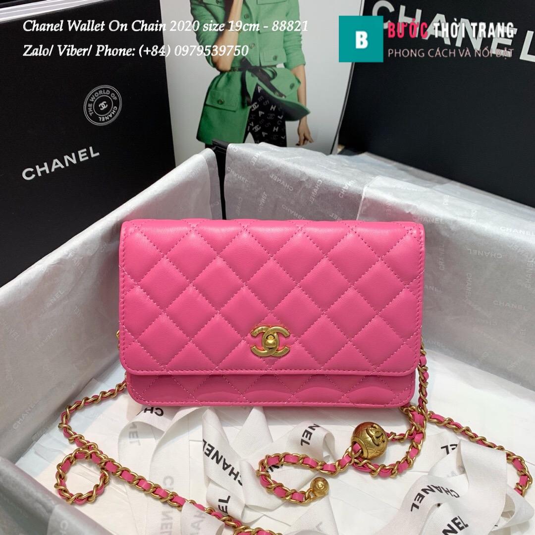Túi Xách Chanel Classic Wallet On Chain siêu cấp 2020 Size 19cm – 88821 (38)