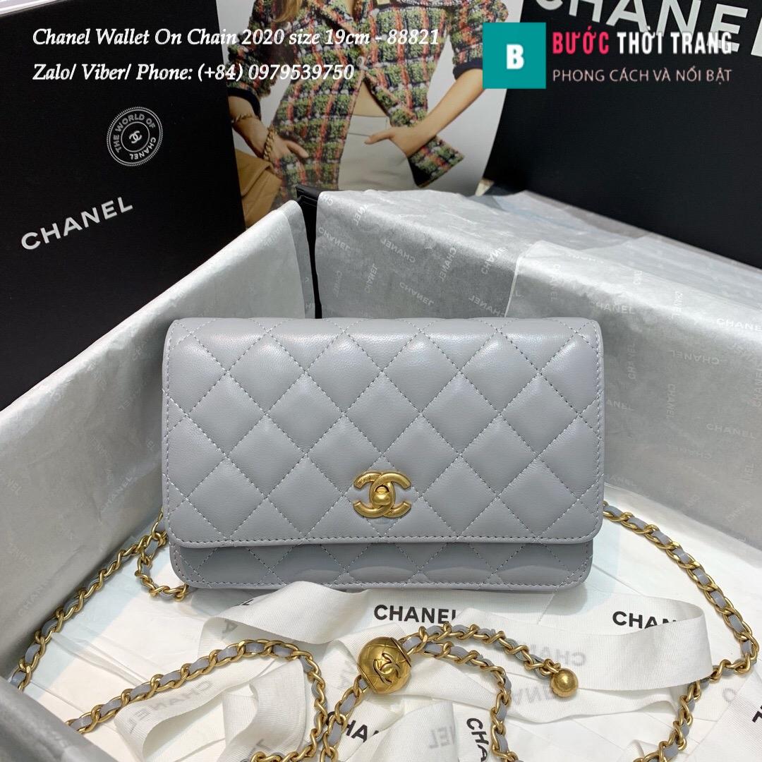Túi Xách Chanel Classic Wallet On Chain siêu cấp 2020 Size 19cm – 88821 (47)