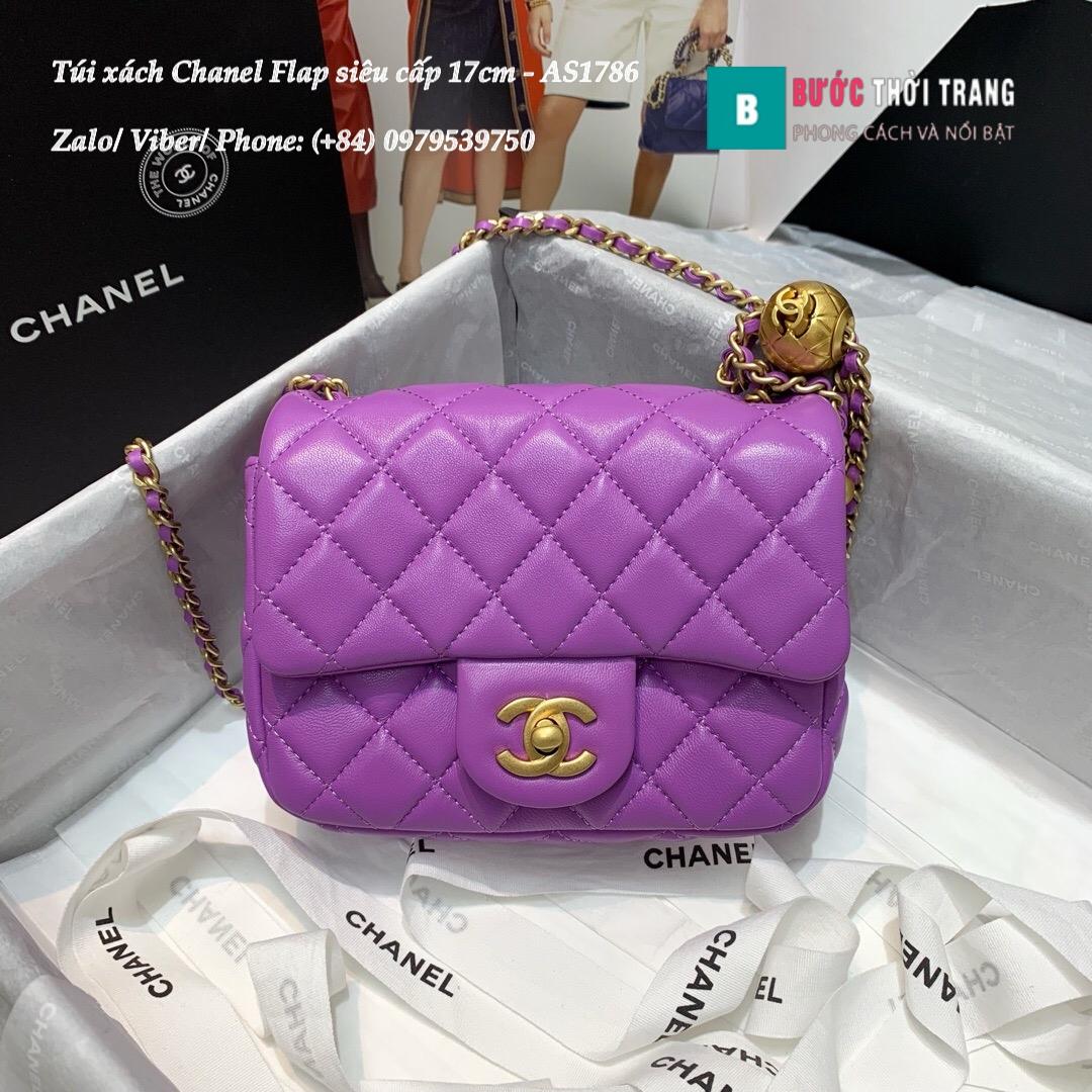 Túi xách Chanel Flap Bag siêu cấp size 17cm – AS1786 (19)