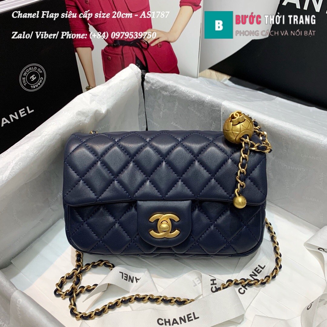 Túi xách Chanel Flap Bag siêu cấp size 20cm – AS1787 (37)